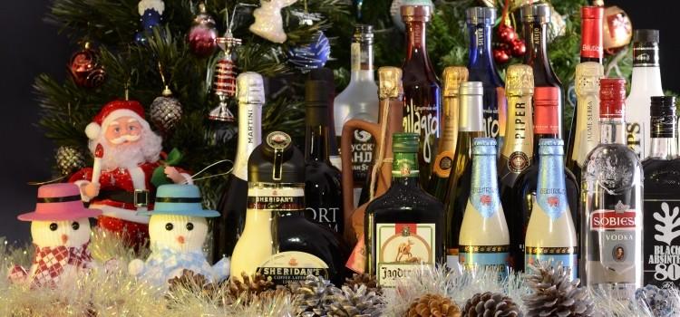 новый год алкоголь шампанское