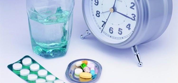 время приема лекарств