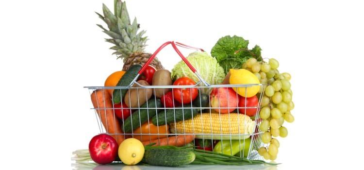 сколько фруктов и овощей