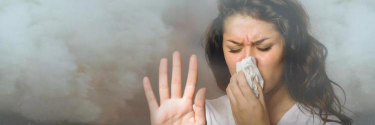 вдыхание пыли