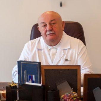 Демури Григорьевич Киртадзе – президент, доктор медицинских наук, профессор ангиохирург, заслуженный врач Российской Федерации